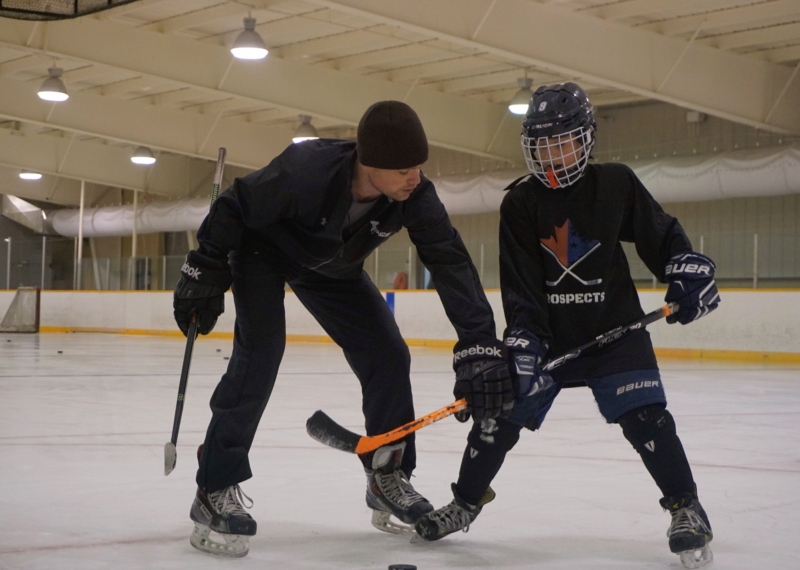 Developing the Skating Stride